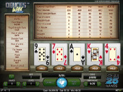 Deuces Wild Double Up Videopoker