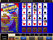 Jacks or Better Power Videopoker