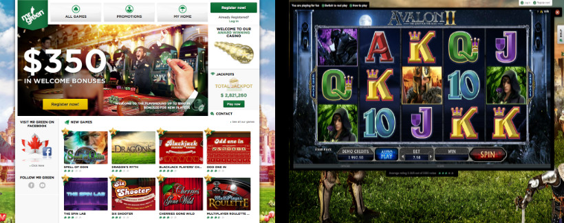 Mr Green Casino and Game