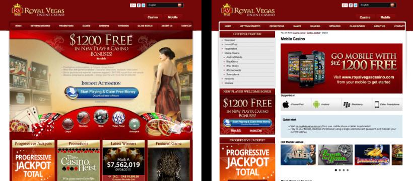 Royal Vegas - Online & Mobile Casino