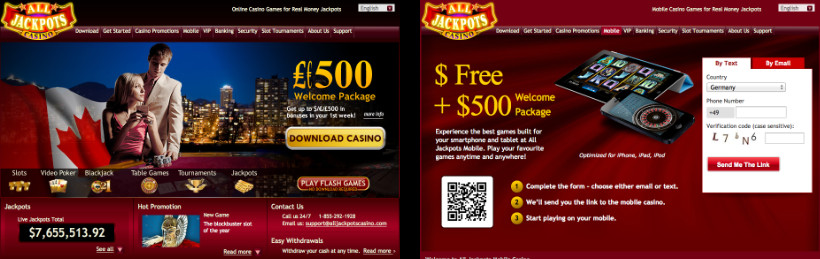 All Jackpots - Online and Mobile Casino