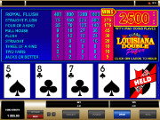 Louisiana Double Videopoker