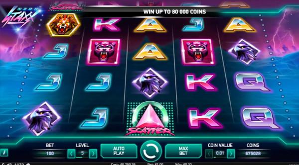 Neon Staxx NetEnt Slot