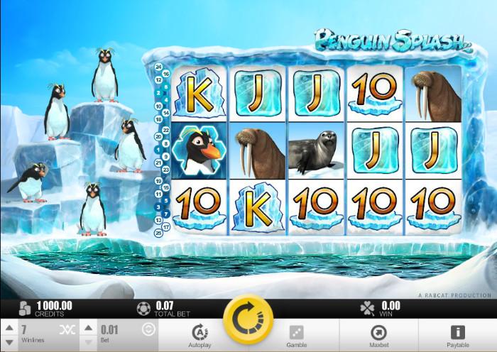 Penguin Splash Video Slot