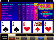 Tens or Better Videopoker